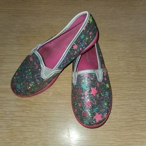 Airwalk Glitter Star Slip on Shoe